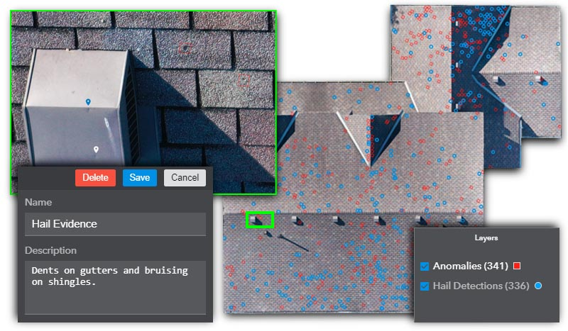 Virtually inspect roofs with ProScan